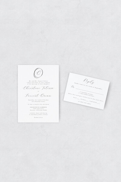 pirouettepaper.com | Wedding Stationery, Signage and Invitations | Pirouette Paper Company | Semi Custom Invitations | The Opulent 05