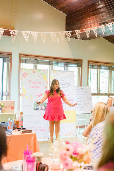 Amber Housley - Marketing Strategist for Creative Women - Inspired Retreat 2019 Day3 - 36
