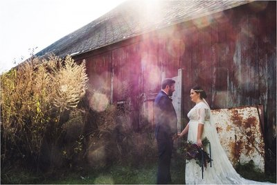 indiana wedding red barn