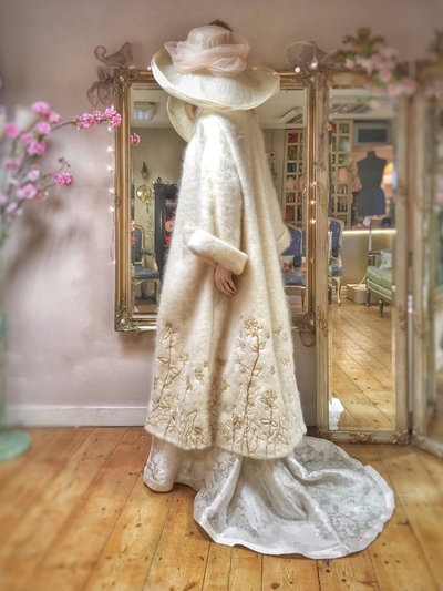 Chione-embroidered-ivory-mohair-wool-bridal-coat-JoanneFlemingDesign