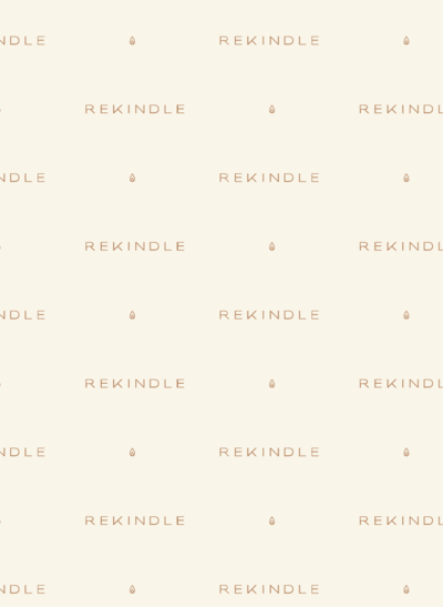Rekindle Candle Co Brand Pattern