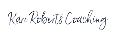 business coach and manager kari roberts logo