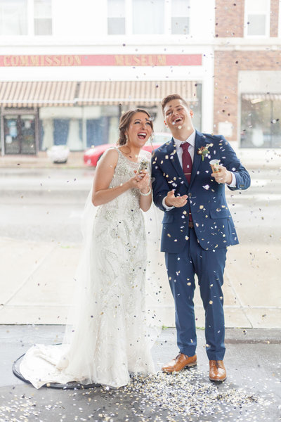 Wedding Photography Confetti