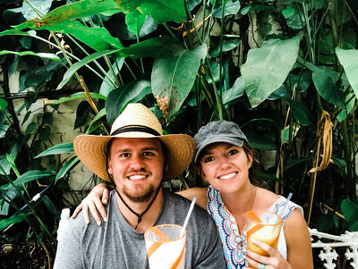 Part Time Tourists, Tulum Mexico Smoothies
