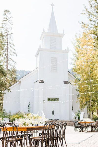 Tamarack Wedding Chapel at Tamarack Resort - Summer Mountain Wedding