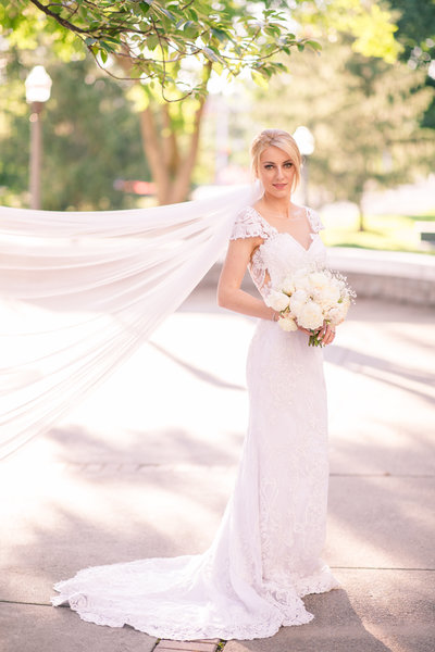 Bridal portrait Bridgewater Virginia