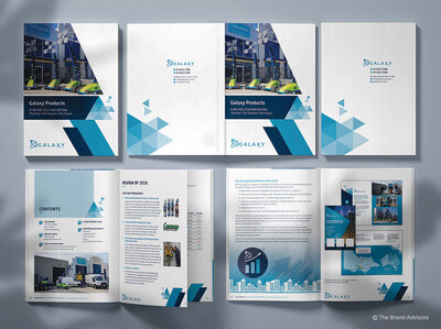 Galaxy Products Annual Report by The Brand Advisory
