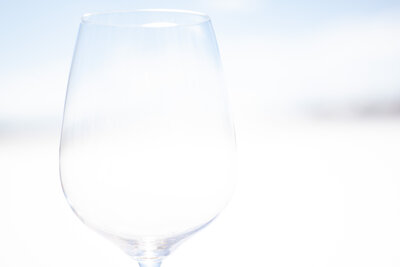 Wine Glass in Snow (2)