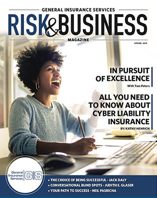 Cover Photo_General Insurance Services_Risk & Business Magazine_Spring 2019
