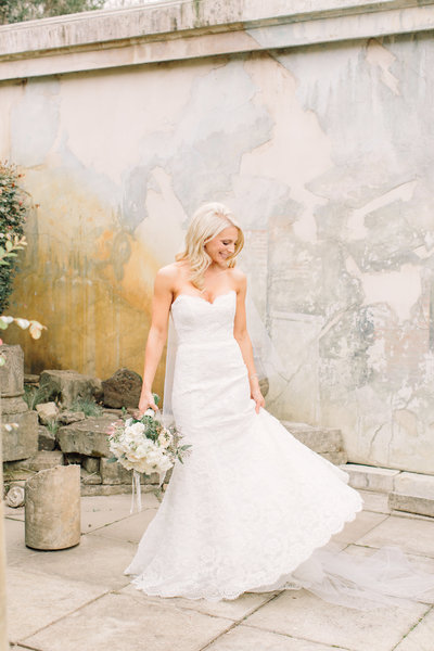Wedding Photography,  Bride at Vintage Estates Yountville