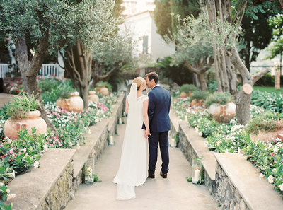 September destination wedding  in Ravello, Italy