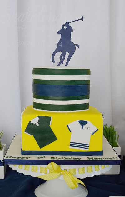 Sparkling Events Designs - Ralph Lauren Polo Cake