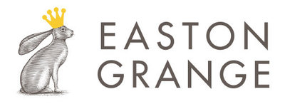 easton grange wedding venue logo with text and Hare