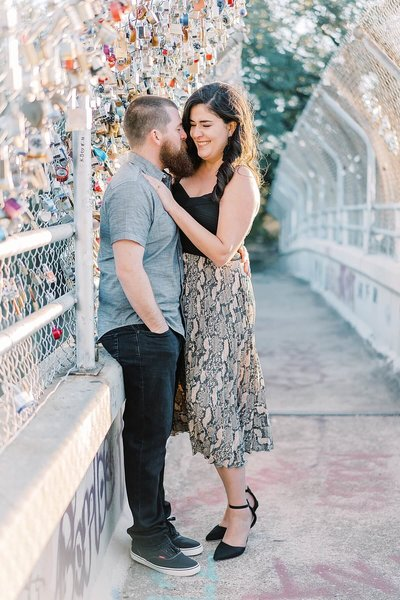 Discovery Green Engagement Photos | Alicia Yarrish Photography