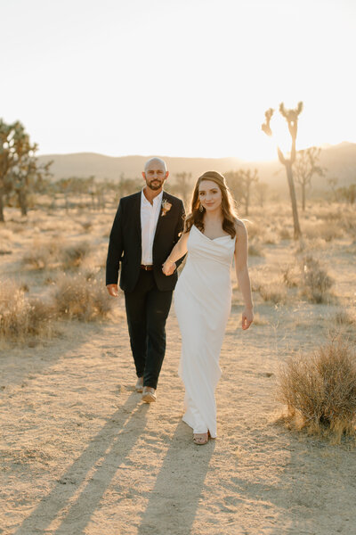 Ashley & Kristian - Joshua Tree National Park Elopement - Tess Laureen Photography @tesslaureen - 145