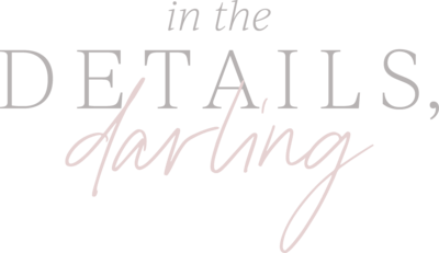 in the details darling logo jenna daykin