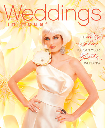 Weddings in Houston Magazine July 2013