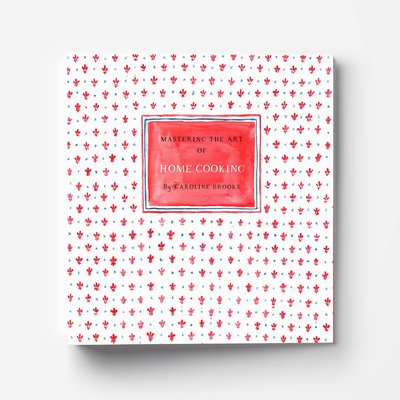 mastering the art of home cooking julia child inspired recipe binder front mockup low res