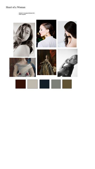 Sarah Carpenter Hybrid Mood Board