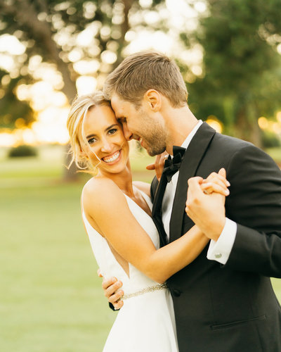 Virginia country club wedding in long beach