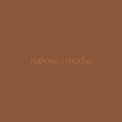 Secondary logo crafted for Repose Co. Media by Rhema Design Co.