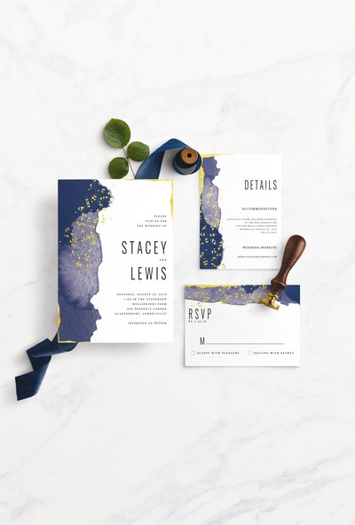 this is a beautifully elegant peacock feather invitation suite, perfect for the boho-chic bride!