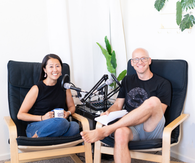 Chris and Jihae host the  Fostering Voices Podcast