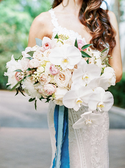 Luxurious Asymmetic Bridal Bouquet
