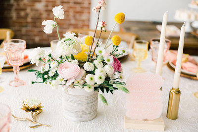 Sweet-Wildflower-Baby-Shower-with-Pink-and-Yellow-Details-9