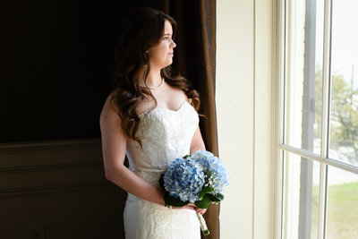 Bridal Portrait at Biloxi Visitors Center, Biloxi MS