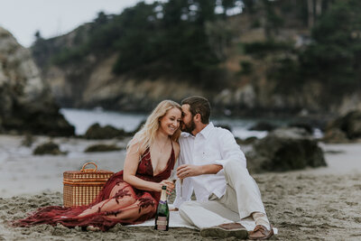 MarisaRuthPhotography Muir Beach California Engagement Session-81