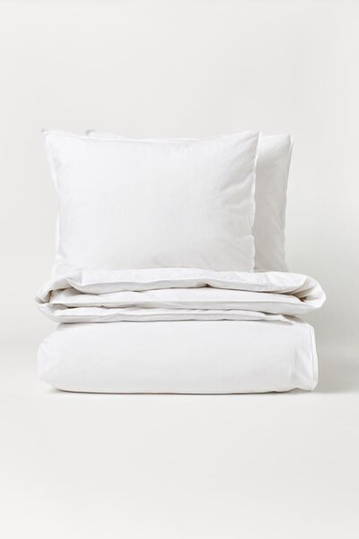 H&M Home Washed Cotton Duvet Cover Set