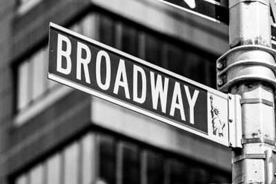 broadway sign copy
