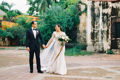 Claire Duran wedding in the Dominican Republic