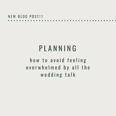planning a wedding can be a very overwhelming process