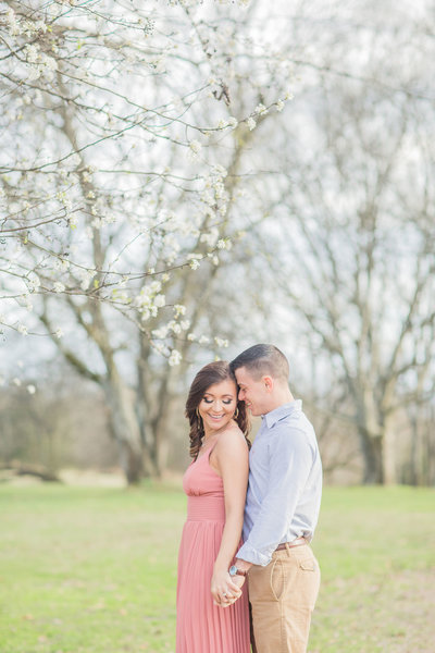 Mississippi spring engagement photos