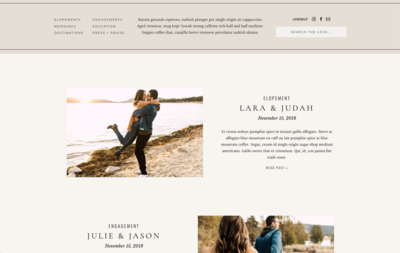 Blog Layouts 1
