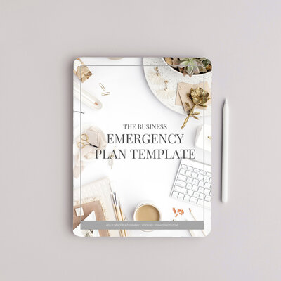 Emergency Plan Cover