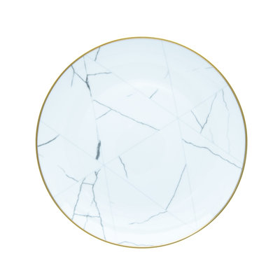 The Event Merchant Company Marble Dinner Plate
