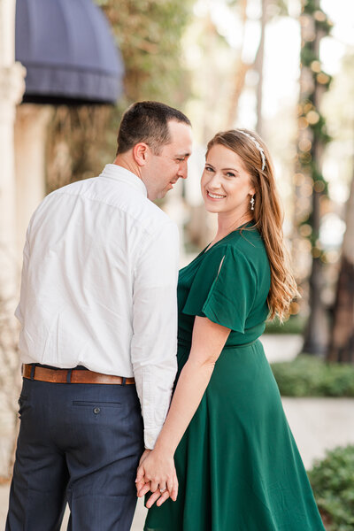 Worth Avenue Engagement Shoot by Nicole Falco Photography