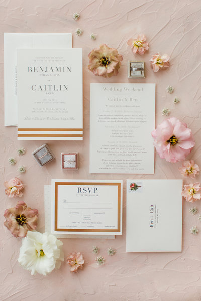 Caitlin + Ben Winery Wedding | Tin Sparrow Events + The Ganeys Photography