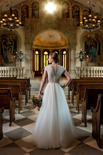 Bella Donna Chapel at Adriatica Wedding Photographer
