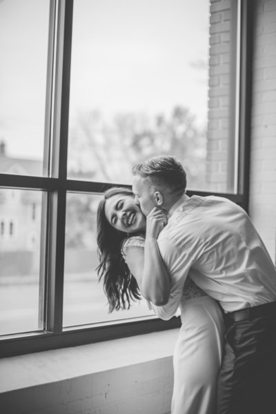 Wisconsin Engagement Session in the fall