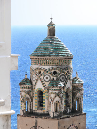 bell tower of S. Andrea cathedral in Amalfi