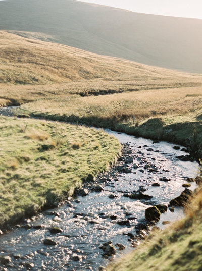 Stream in the Scottish Highlands