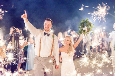 walkers overlook sparkler exit wedding  chesapeake charm photography