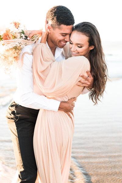joyful cannon beach Oregon summer elopement