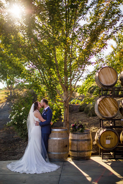 Heather + Luke Winery Wedding | Tin Sparrow Events + Christi Chamber Photography