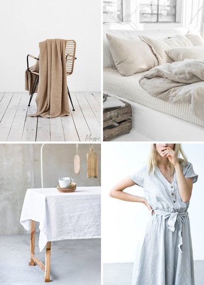 Shop our curated Etsy finds - Favourite Linen Items and shops