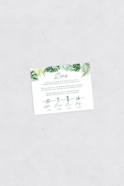 pirouettepaper.com | Wedding Stationery, Signage and Invitations | Pirouette Paper Company | Semi Custom Invitations | The Aloha 02